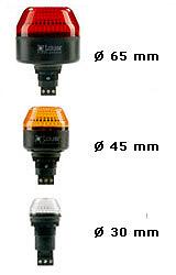 IBL-IBM-IBS LED Steady - Flashing Beacon